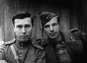 Кенан Кутуб-заде (слева) и Владимир Сущинский. 1943г.